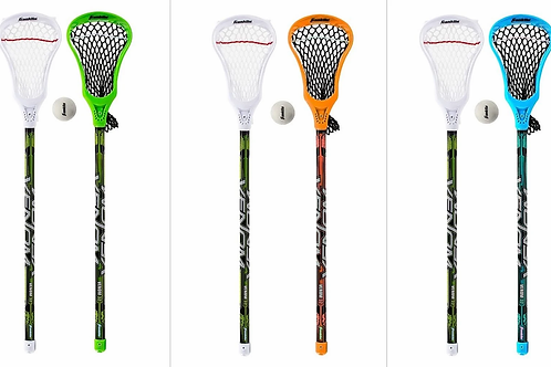 Franklin Sports Youth Lacrosse Set 2 Sticks and 1 Ball