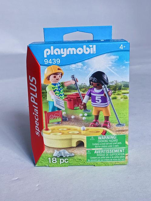 Children Minigolf Playmobil Figure