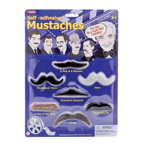 MUSTACHES – SELF ADHESIVE