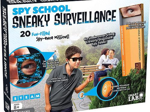 Spy School Sneaky Surveillance - 11 Pieces - Includes in-world Book