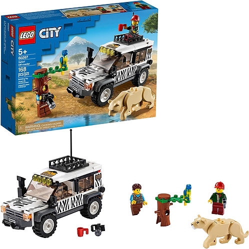 LEGO City Safari Off-Roader 60267 Off-Road Toy, Cool Toy for Kids, New 2020 (16