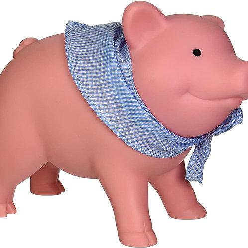 Schylling Rubber Piggy Bank Pink