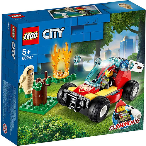 LEGO 60247 City Forest Fire Response Buggy with Firefighter