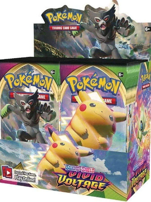 Pokemon Sword and Shield Vivid Voltage Single Packs