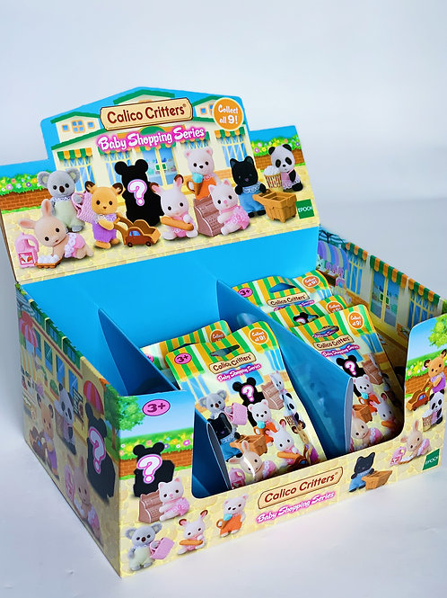 Calico Critters Baby Shopping Series