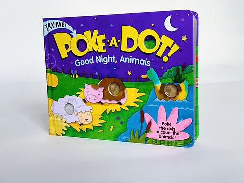 Poke-a-Dot: Good Night, Animals