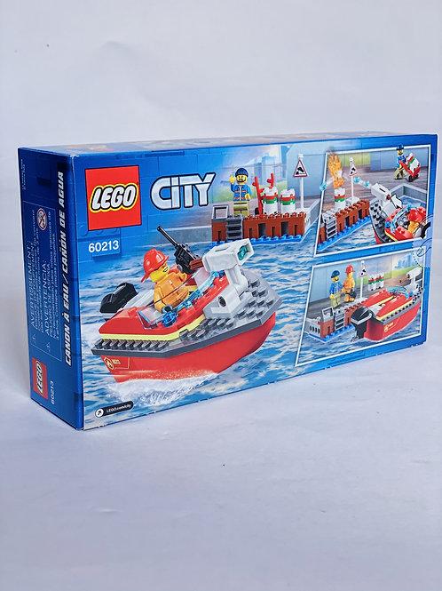 Dock Side Fire LEGO City