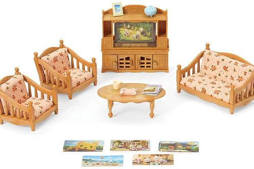 Calico Critters CC1808 Comfy Living Room Set