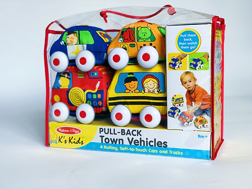 Pull Back Town Vehicles