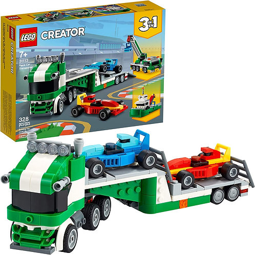 LEGO Creator 3in1 Race Car Transporter 31113 Building Kit; Makes a Great Gift fo