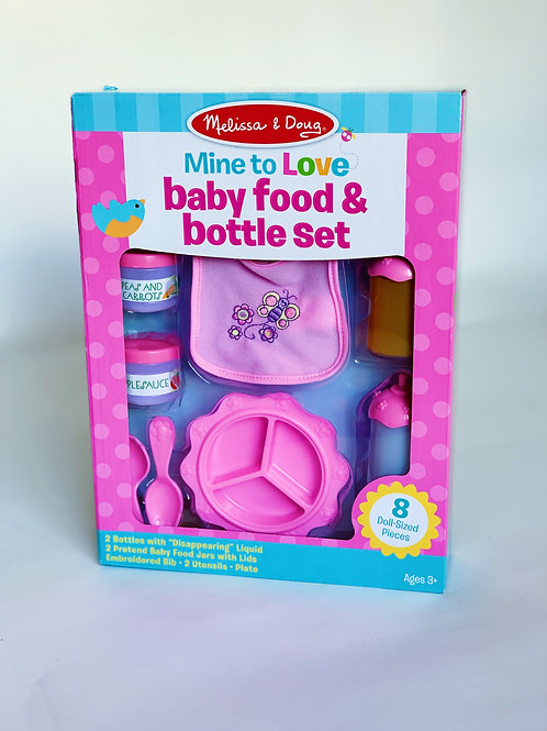 Baby Food and Bottle Set