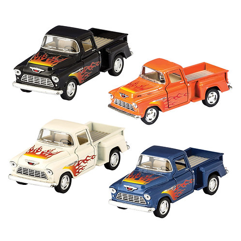 DIECAST 55′ CHEVY PICKUP FLAMES