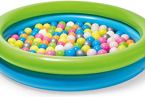 "Kidoozie B-Active Jumbo Splash n' Play Ball Pit, 50"" Pool, 100 Balls, Perfect fo"