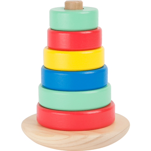 """Small Foot Wooden Toys - Game Of Skill Stacking Tower """"Move It!"""" Playset"""