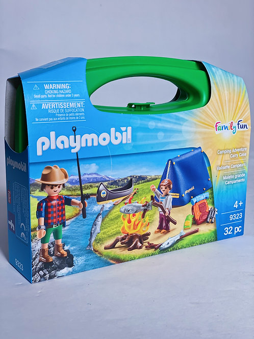 Camping Adventure Carry Case Playmobil Family Fun