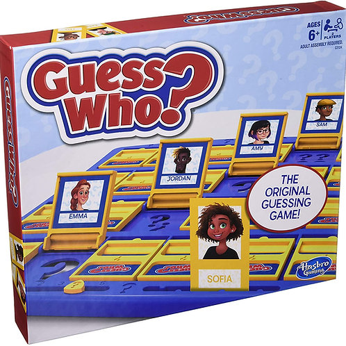 Hasbro Gaming Guess Who? Game Original Guessing Game for Kids Ages 6 and Up for