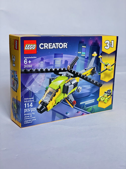 Helicopter Adventure LEGO 3-in-1