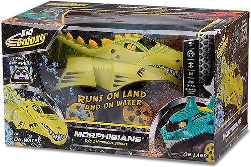 Kid Galaxy Amphibious RC Car Mega Morphibians Crocodile. All Terrain Remote Co