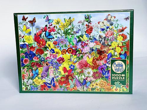 Garden Flowers 1000pc Puzzle