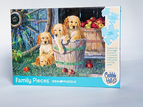 Puppies 350pc Puzzle