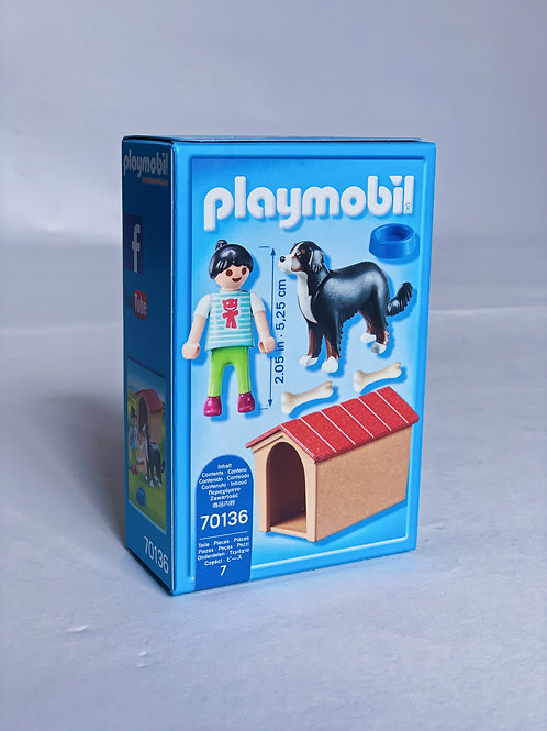 Dog with Doghouse Playmobil
