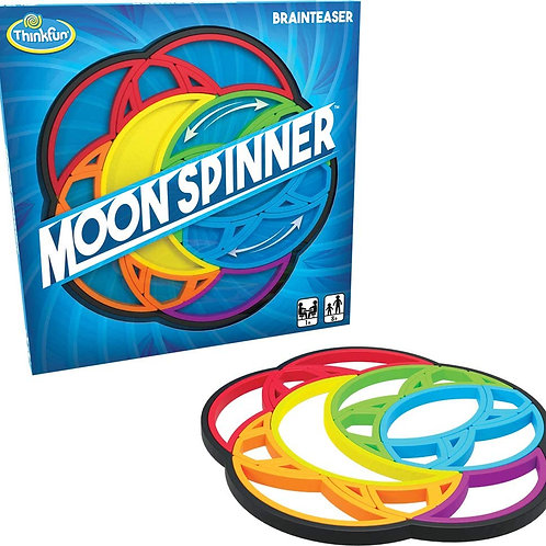 Think Fun Moon Spinner STEM Toy and Brain Game for Boys and Girls Age 8 and Up -