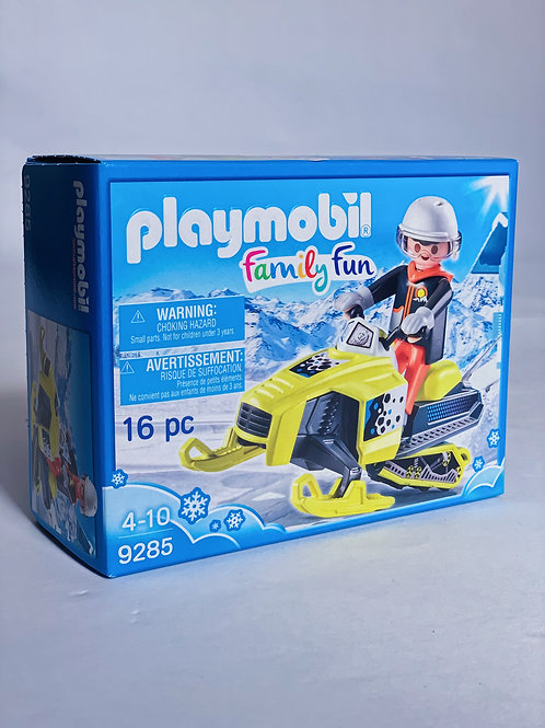 Snowmobile Playmobil Family Fun