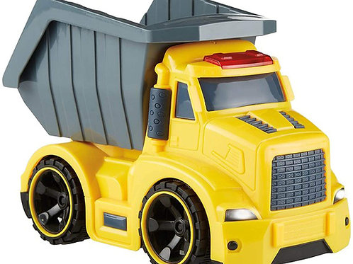 Kidoozie Lights 'n Sounds Dump Truck, Indoor or Outdoor Toy, for Children 3 Year
