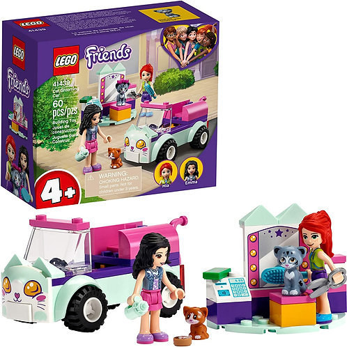 LEGO Friends Cat GrLEooming Car 41439 Building Kit; Collectible Toy That Makes a
