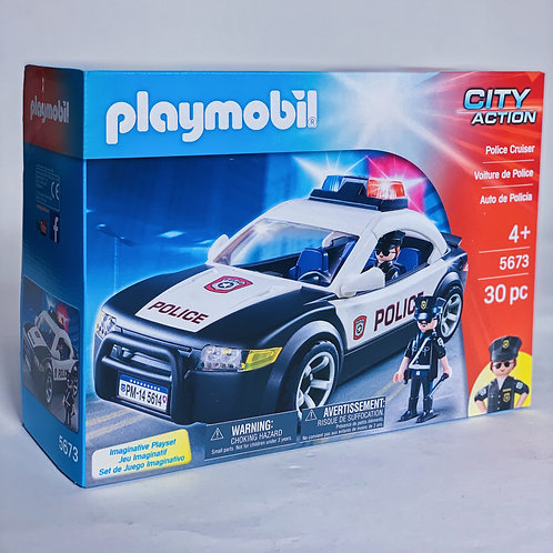 Police Car Playmobil Action