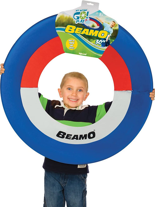 Toysmith Get Outside GO! Beamo Flying Hoop (30-Inch, Assorted Colors), Toy multi