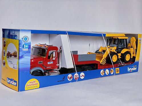 Mack Truck and JCB 4CX
