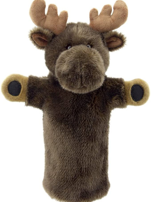 The Puppet Company Long-Sleeves Moose Hand Puppet