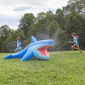 8-Foot Giant Inflatable Mister Shark Sprinkler