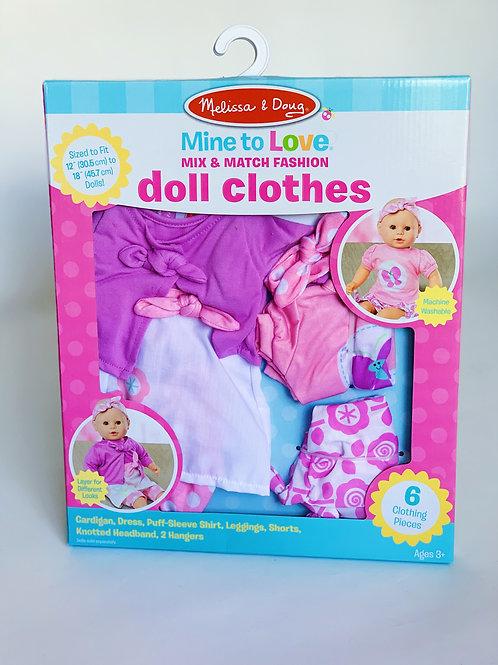Doll Clothes Set