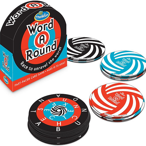 ThinkFun Word A Round Game - Award Winning Fun Card Game For Age 10 and Up Where