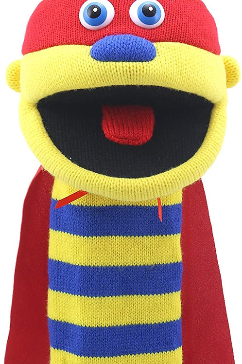 The Puppet Company - Knitted Puppets -Zap Hand Puppet