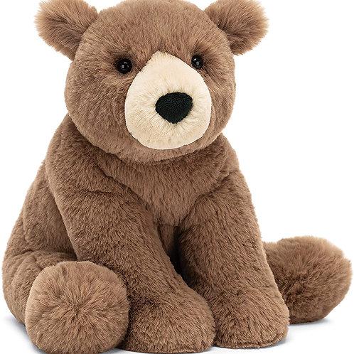 Jellycat Woody Bear Stuffed Animal, Small