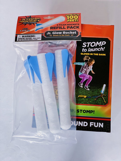 Stomp Rocket - Jr. Glow Rocket Refill