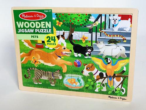 Pets Wooden Puzzle