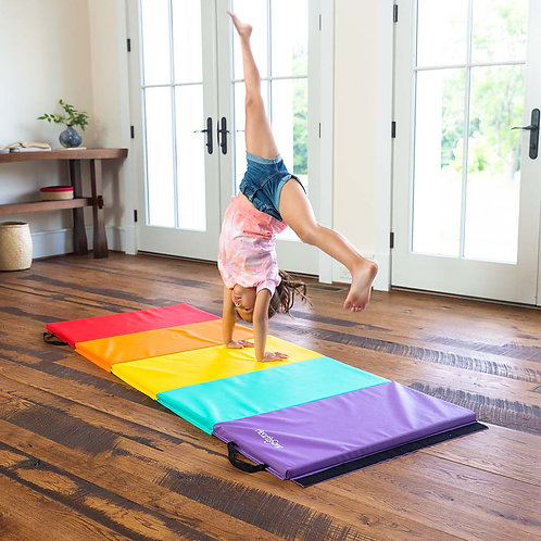 Five-Panel Folding Gymnastics Tumbling Mat