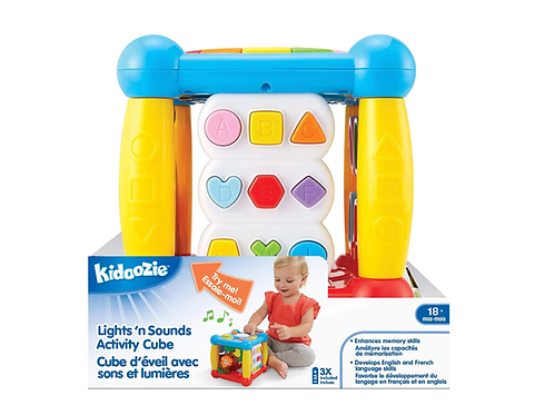 Kidoozie Activity Cube