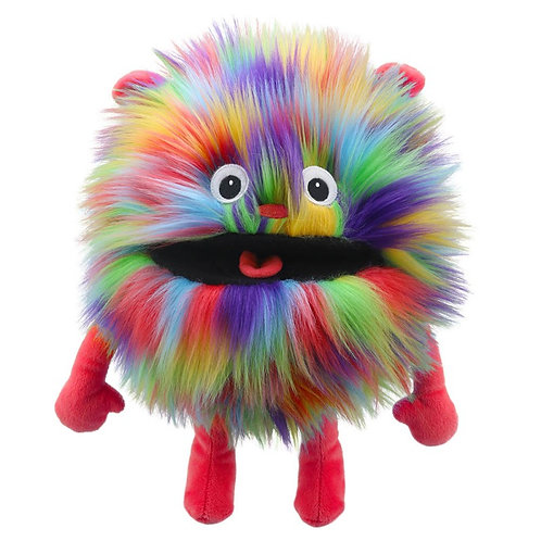 The Puppet Company Rainbow Baby Monster Puppet