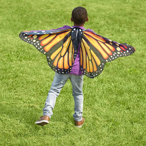 Realistic Fabric Butterfly Wings - Monarch