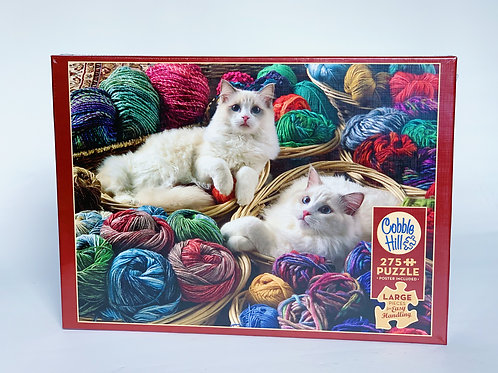 Kittens in Yarn 275pc Puzzle