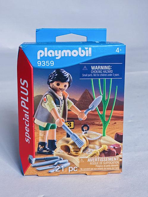 Archaeologist Playmobil Figure