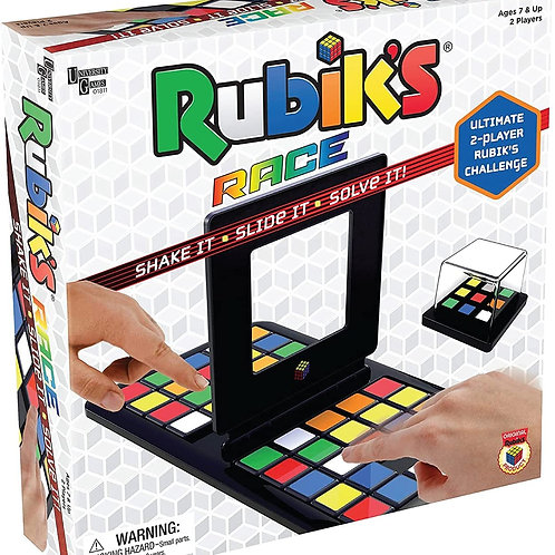 Rubik's Race Game, Head To Head Fast Paced Square Shifting Board Game Based On T