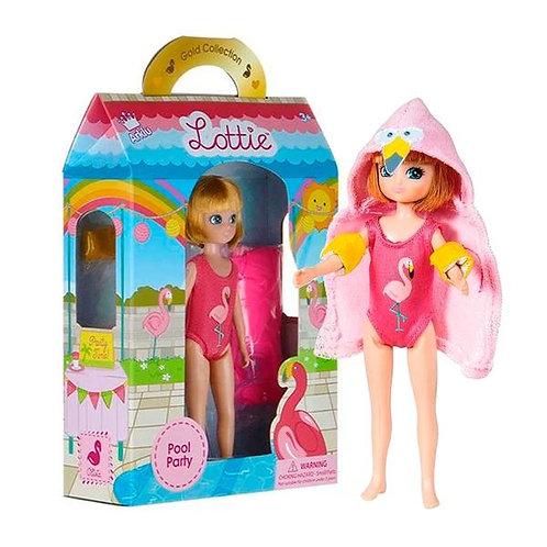 Lottie Pool Party Doll | Bath | Fun Bathtub Toys | Mermaid | Swim Doll Swimsuit