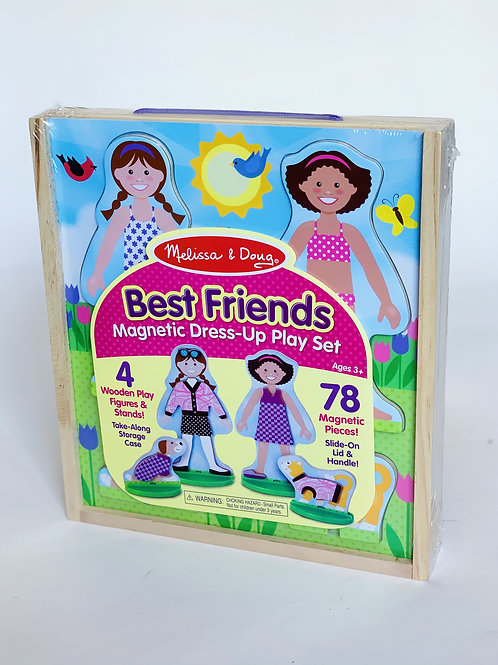 Best Friends Magnetic Dress Up Set