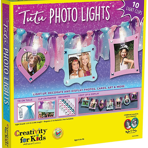 Creativity for Kids Tutu Photo Lights – Make your own Photo-Clips String Light